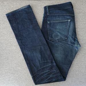 Pure Blue Japan Men's Button Fly Jeans